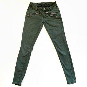 Vanilla Star green size 0 women's jeans